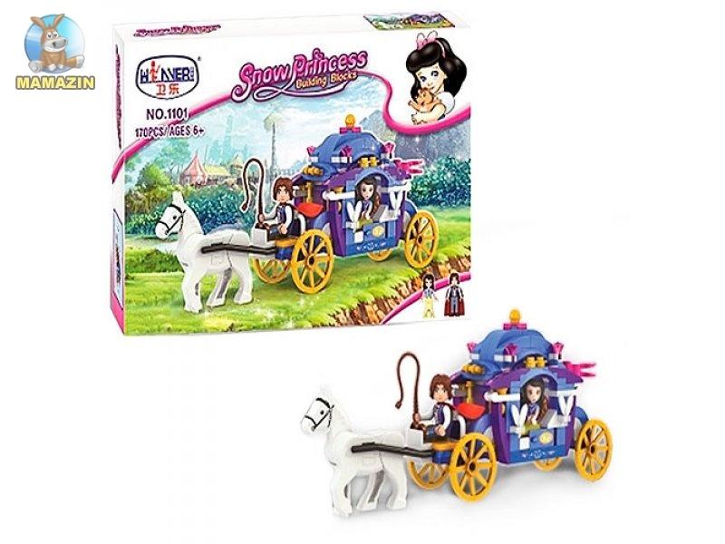 Конструктор Виннер карета с лошадью