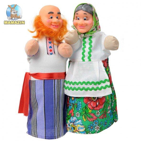 Набор для кукольного театра Дед и Бабка
