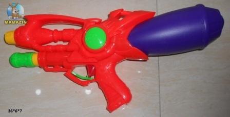 Ирушечное водяное оружие с накачкой
