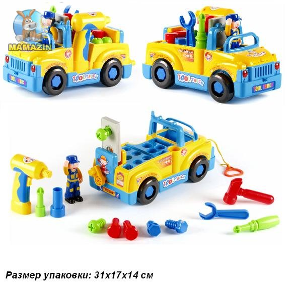 Машина-конструктор с инструментами