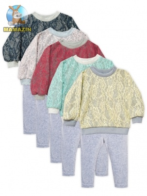 Комплект одежды для девочки Ажур 68-86р