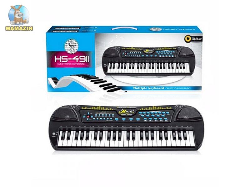 Синтезатор детский 49 клавиш