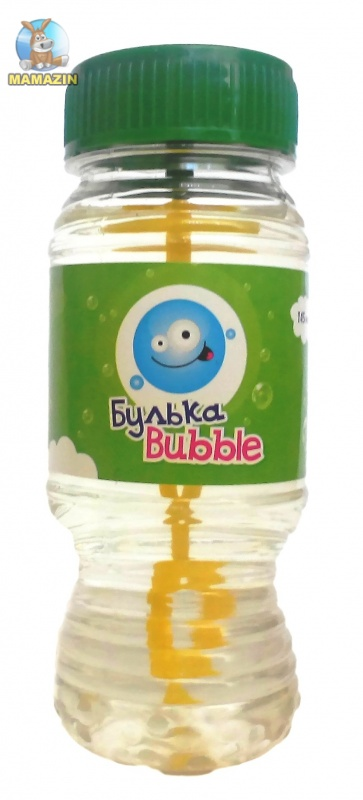 """Детские мыльные пузыри """"Булька Bubble"""" - БЛОК"""