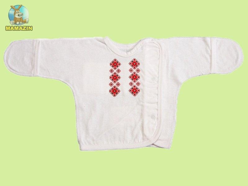 Распашонка-вышиванка для мальчика р.40