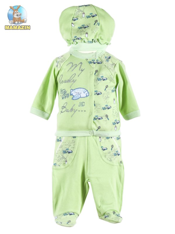 Комплект детской одежды Лева 56р (коробка)