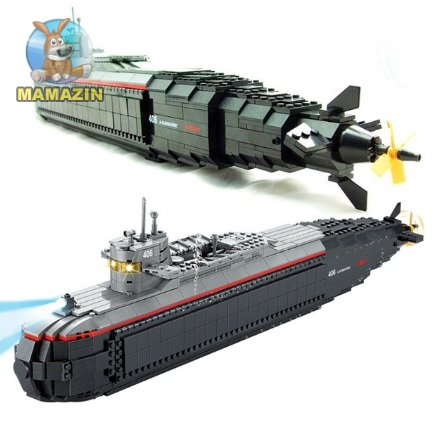 Конструктор Кази Военная субмарина