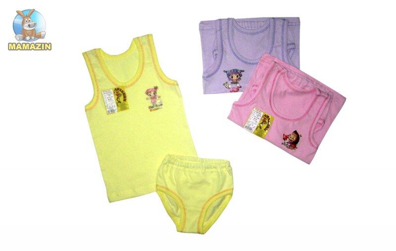 Комплект нижнего белья для девочки р.64 ( 98см-110см )