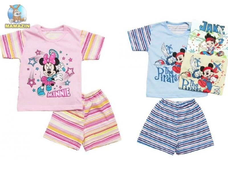 Комплект для мальчика/девочки футболка+шорты р.52 (74см-80см)