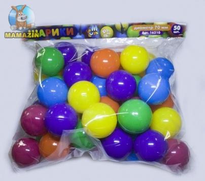 Шарики для сухих бассейнов 50шт в сумке