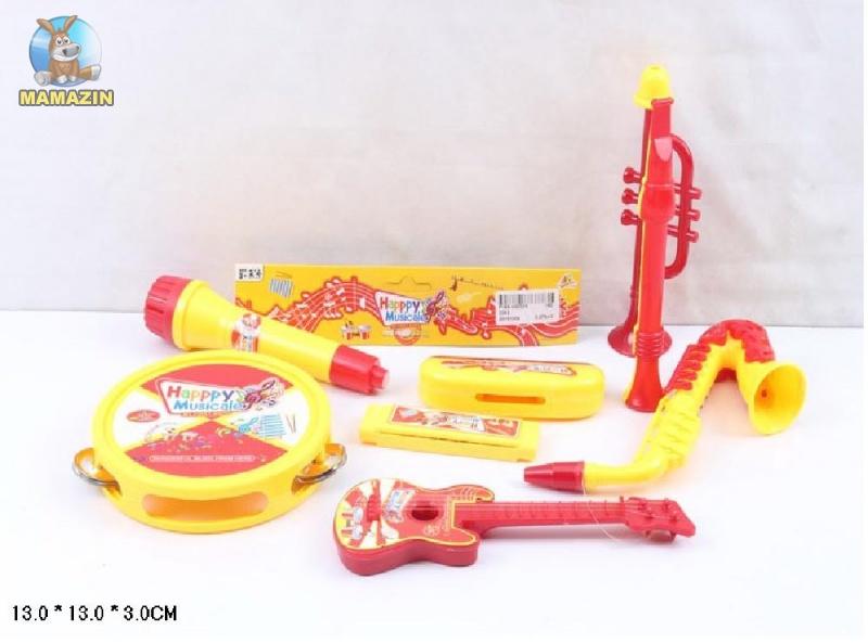 Игрушечный набор музыкальных инструментов