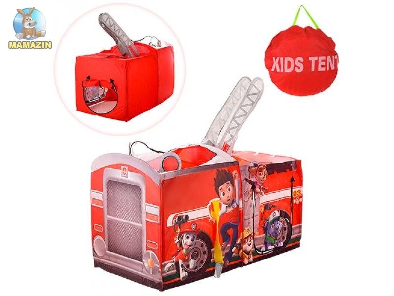 Детская палатка Щенячий патруль Пожарная машина