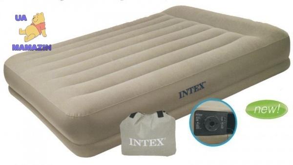 Intex: Кровать надувная
