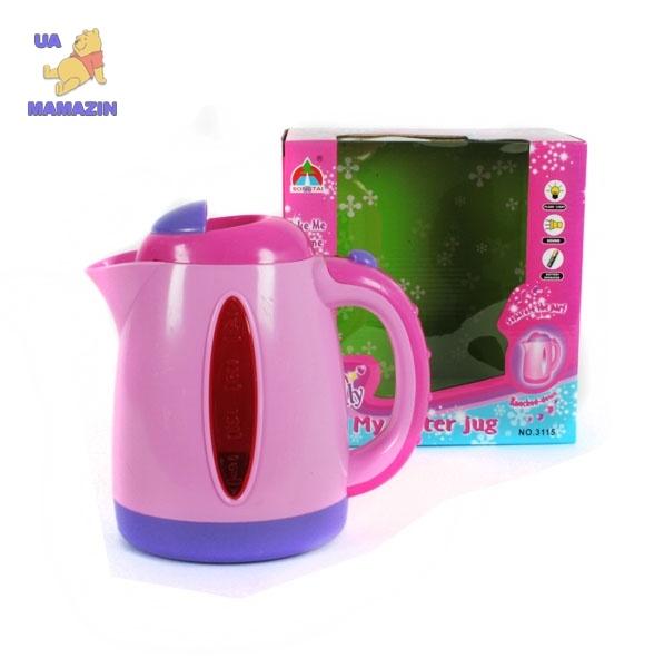 Чайник со светом и звуком