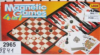 Сборник игр Шахматы 4в1