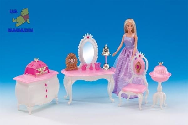 "Мебель для кукол тип барби ""Будуар принцессы"" ТМ Глория"