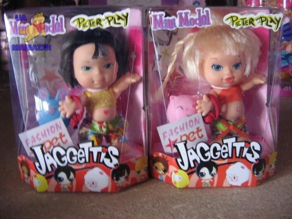 "Кукла ""JAGGETTIS"" с пищалкой"