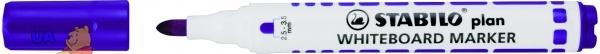 Маркер для доски фиолетовый STABILO PLAN
