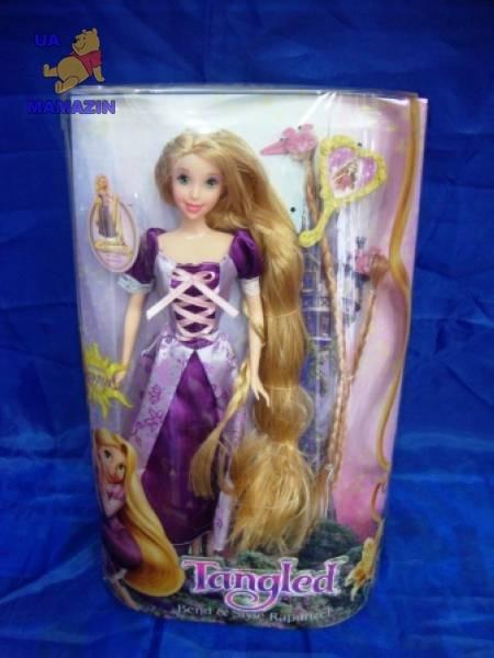 Кукла рапунцель с длинными волосами
