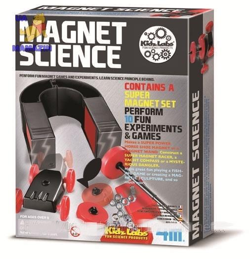 Опыты с магнитами 10 опытов ТМ 4M