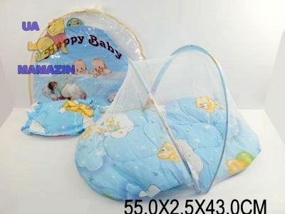 Коврик для младенца  с маскитной сеткой