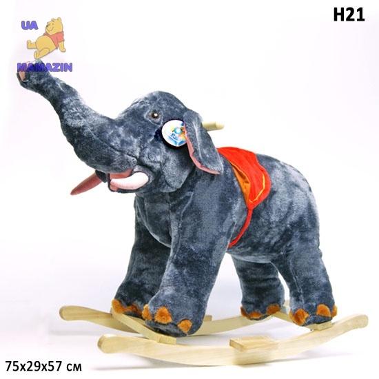 Качалка Слон