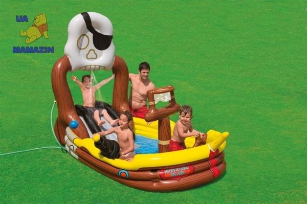 Игровой центр Пиратский корабль Intex