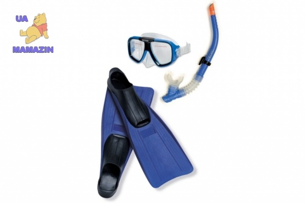 "Набор маска+трубка+ ласты ""Reef Rider Sports Set"" Интекс"