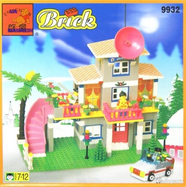 Brick Конструктор Загородный дом