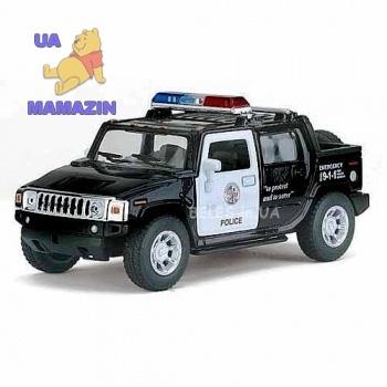 Коллекционная модель автомобиля Hummer H2 полиция