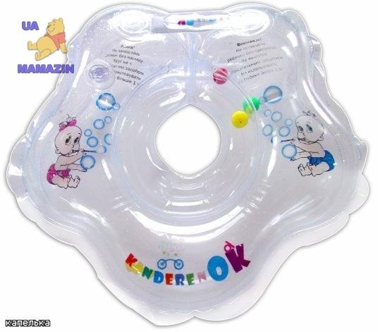 КиндеренОК:Круг на шею Капелька-прозрачный