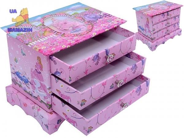 Детская шкатулка-комод с ящиками