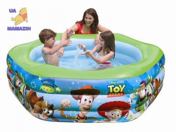 Бассейн надувной Toy Story ТМ Intex