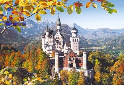 Castorland: Пазл Замок Нойшванштайн, Германия