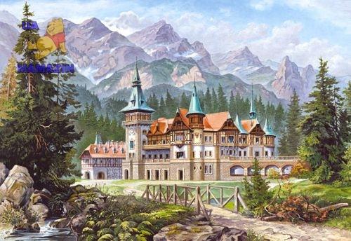 "Castorland: пазл 3000эл. ""Замок в горах"""
