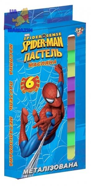Пастель масляная металлист. 6цв/12шт.