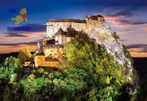 "Castorland: пазл ""Оравский град, Словения"" 500 эл."