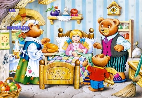 Castorland: пазл Три медвеся сказка 260 эл.