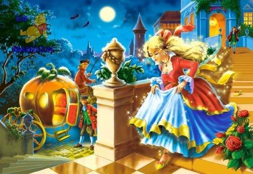 Castorland: пазл сказка Золушка 120 эл.
