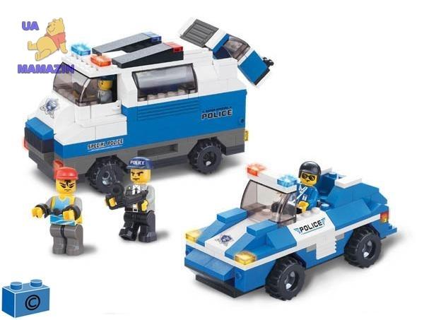 SLUBAN: конструктор Полиция 337дет.