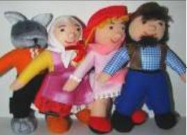 Топотушки: пальчиковый театр Красная шапочка