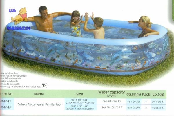 Bestway: Бассейн «Семейный»