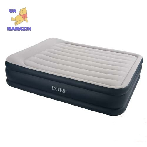 Матрац для отдыха - DELUXE (электронасос) Intex