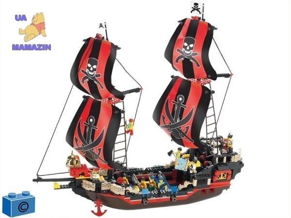 Конструктор пиратская шхуна ТМ Sluban