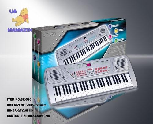 Синтезатор sk-520 инструкция