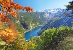 Пазлы Castorland Navy blue lake in the Alps 2000 эл.