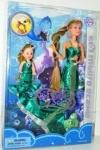 Кукла-русалка меняет цвет волос ТМ Defa