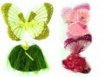 Набор бабочки-крылья и юбка, микс цветов