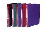 Папка на 2 кольца А4/25мм D1802-12 фиолетовая