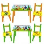 Набор Стол +2 стула   Простоквашино