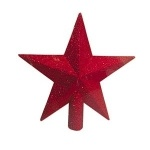 "Верхушка ""Звезда"" 20 см, красная"